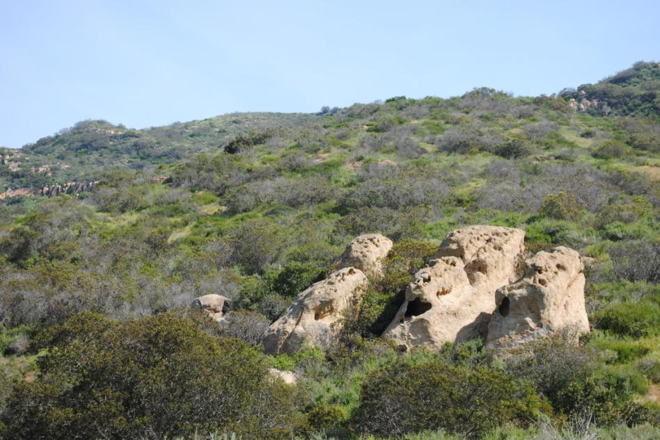 Three Sisters Rock - Shady Canyon