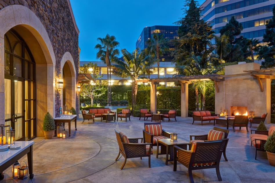 Tuscany Patio - Irvine Marriott