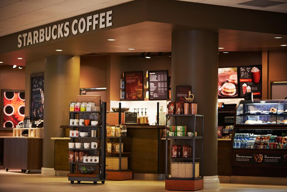 Starbucks at Irvine Marriott