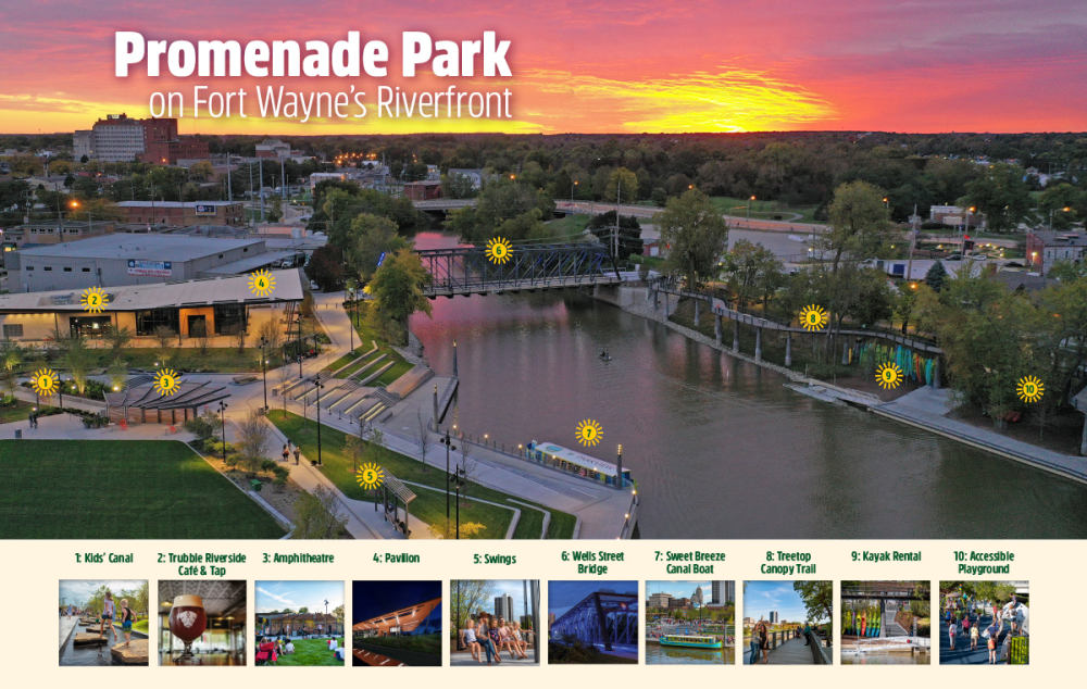 Promenade Park Map