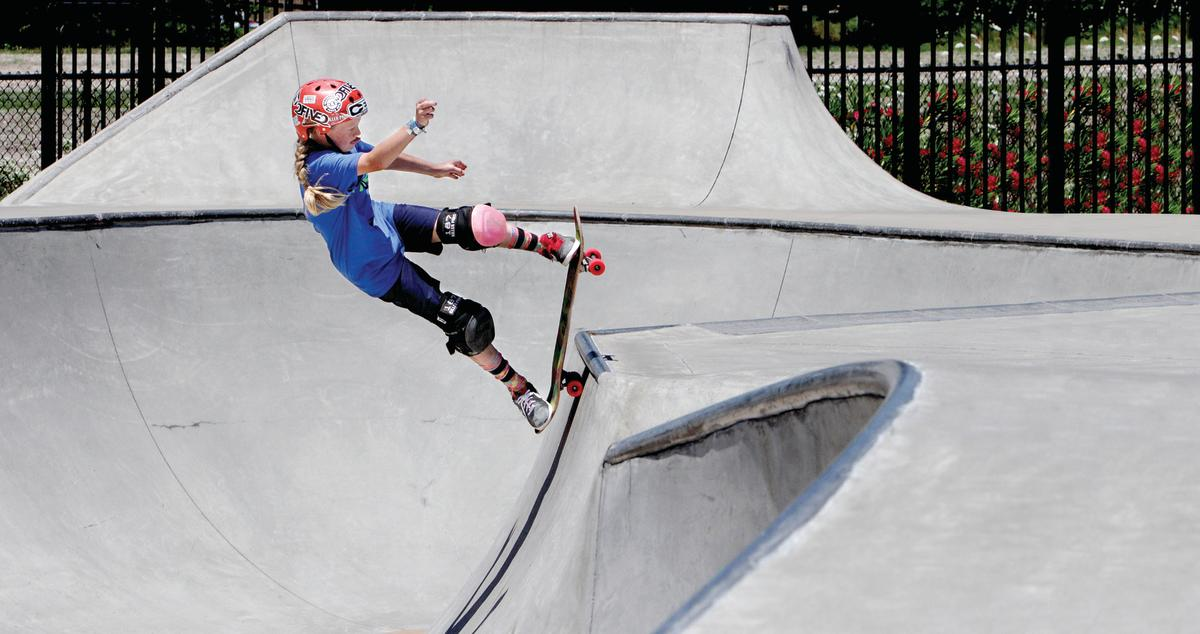 Inland Skateboarding