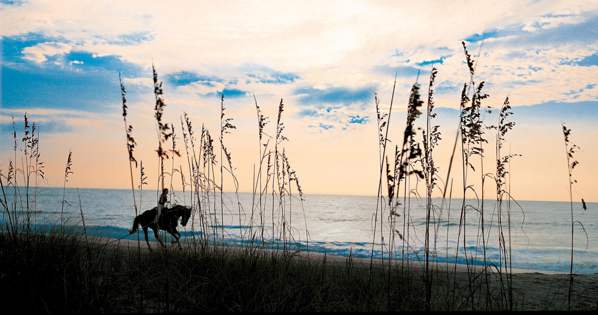 Sea Island offers horseback rides on the beach | Golden Isles, GA