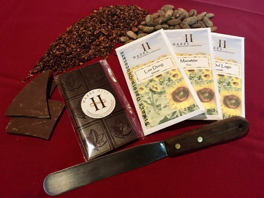 Single origin chocolate bars