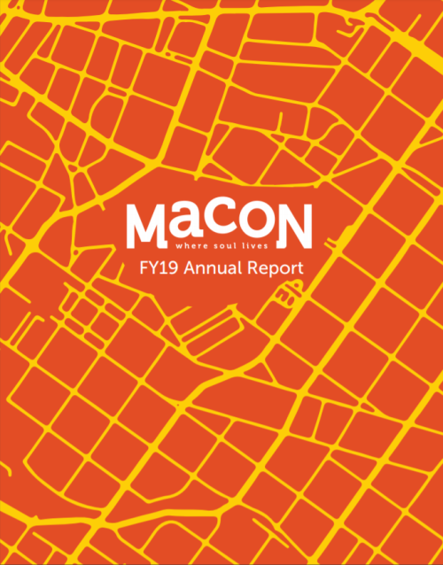 FY19 Visit Macon Annual Report Cover