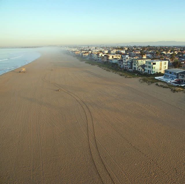 Sunset Beach Aerial