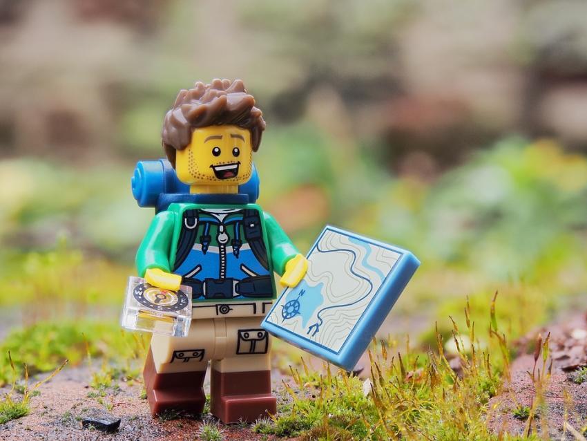 Geocache - Lego Guy
