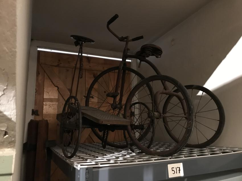 2017-Ontario-County-Historical-Museum-Interior-vintage-bikes