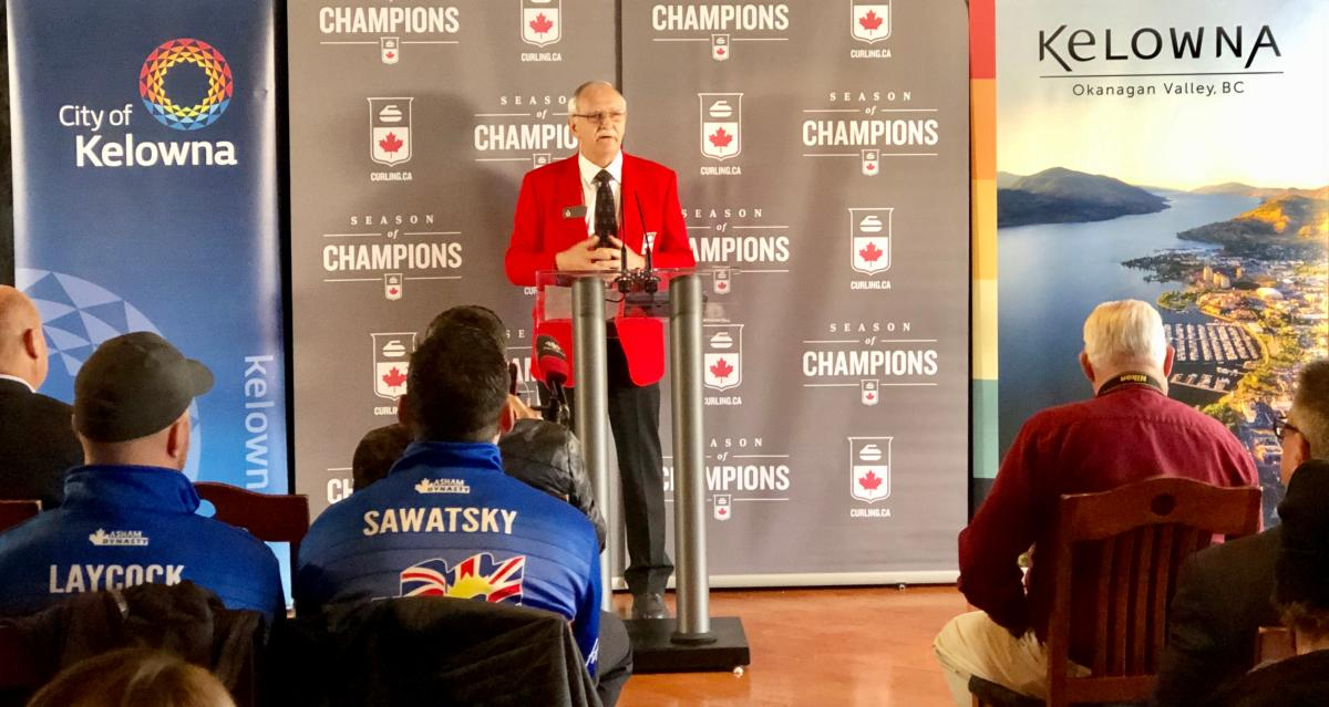 Curling Canada Brier Announcement