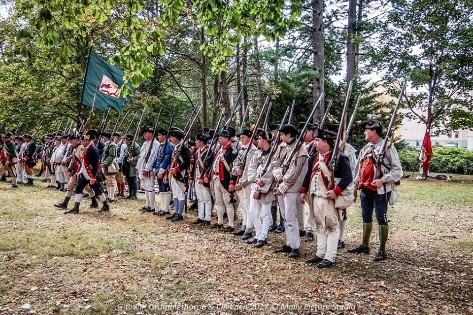 First New Jersey Regiment at Valley Forge