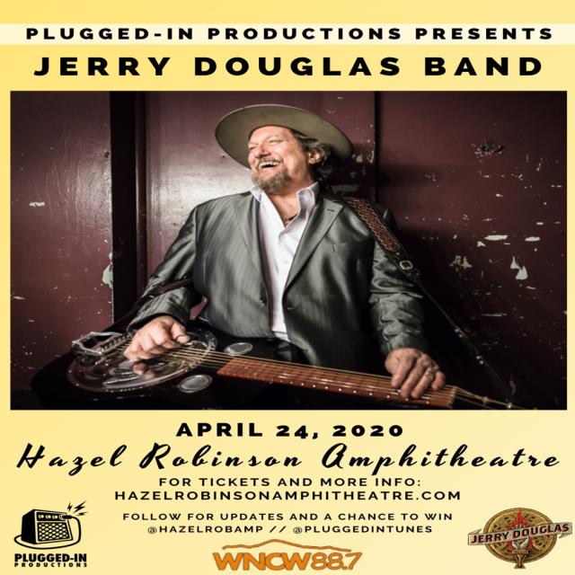Jerry Douglas Band - Live at Hazel Robinson Amphitheatre!