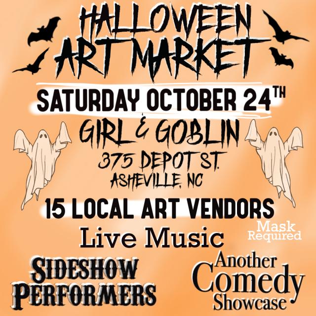 Halloween Art Market