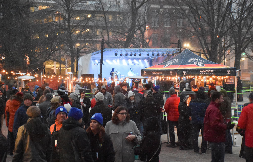 Weather the Fort Crowd - A Winter Festival in Fort Wayne, Indiana
