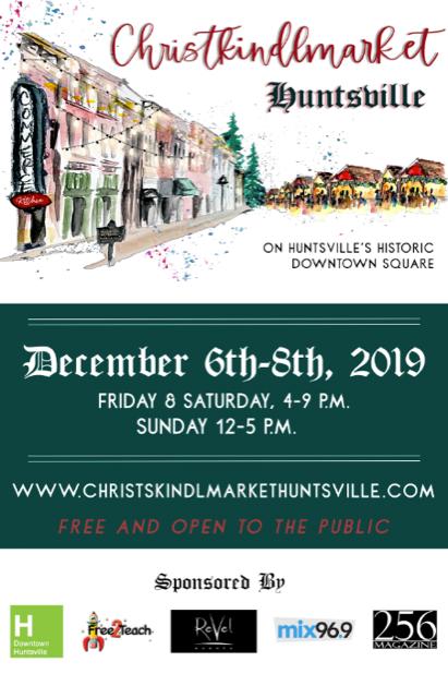 Christkindlmarket Huntsville 2019 Poster