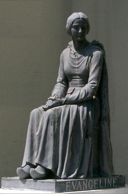 Statue of Evangeline
