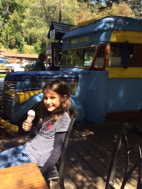 Ice Cream at Big Sur River Inn