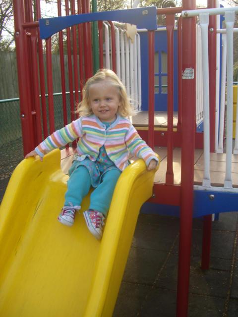 Jess at the playground