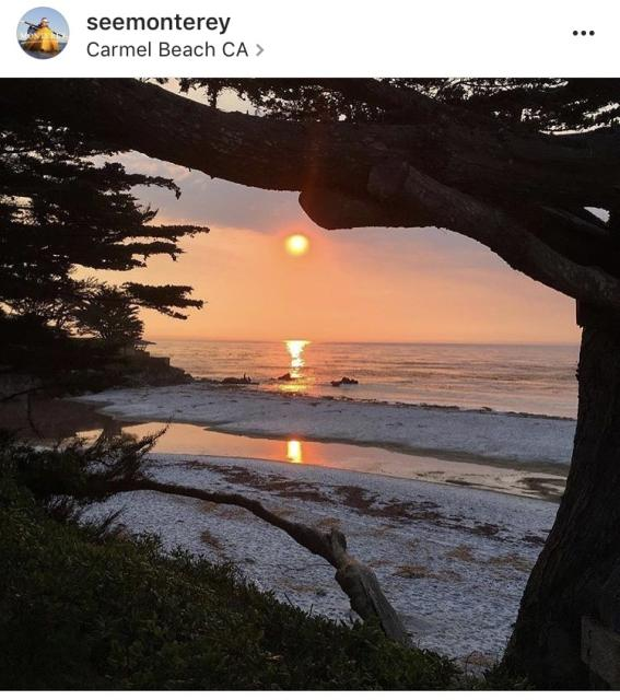 Carmel Beach Instagram