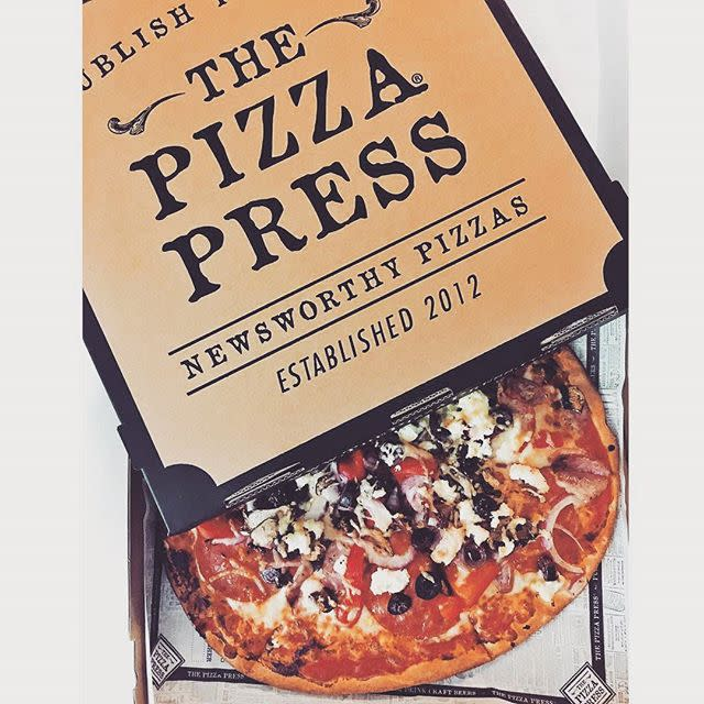Pizza Press photo by @myworldofcolor