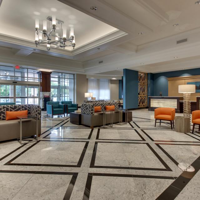 Drury Plaza Richmond Lobby