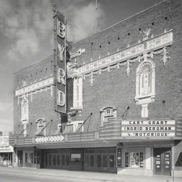 Byrd facade in 1946