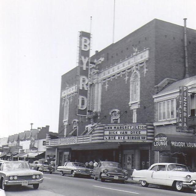 Byrd facade in 1963