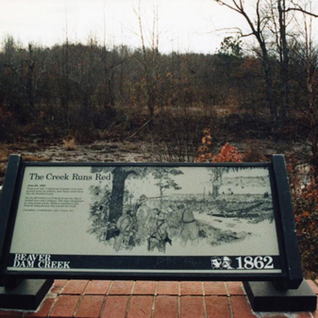 Beaver Dam Creek Battlefield