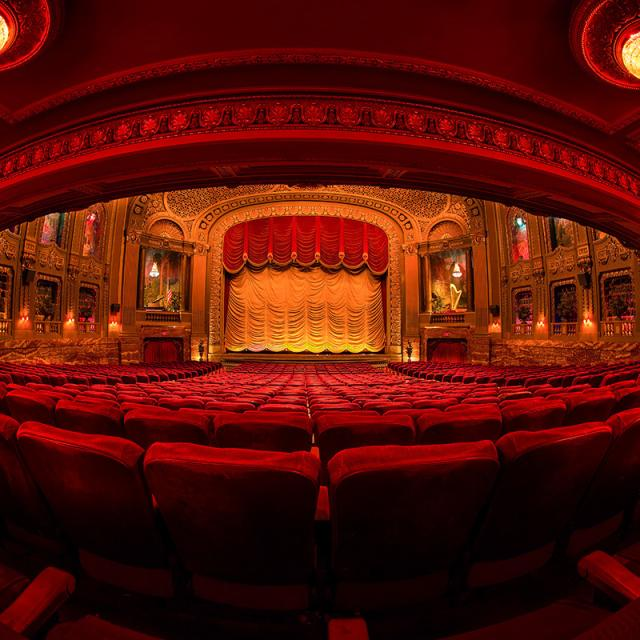 Byrd Theatre Auditorium - Fish Eye, Lower Level (Credit: Scott Kelby)