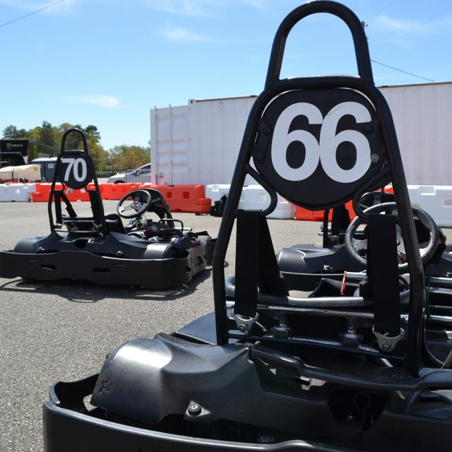 A Few Of Our Fleet Of Karts