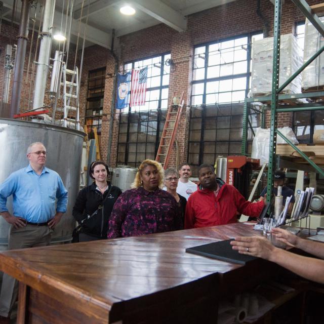 James River Distillery Tour