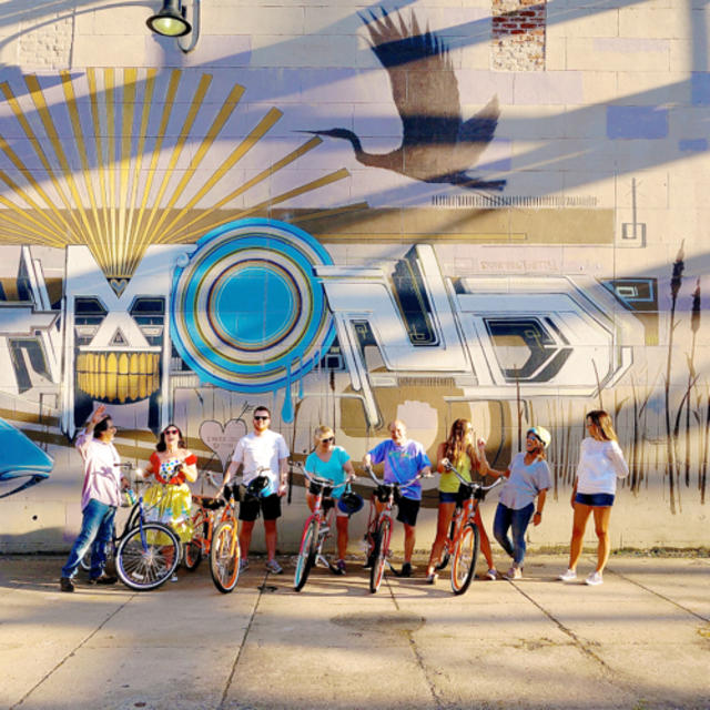 Group at Mural