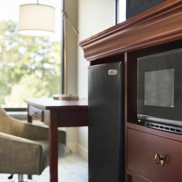 Microwave/ Fridge in Guestroom