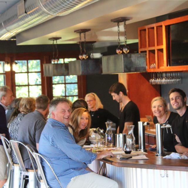Inside the Tasting Room at Ashton Creek Vineyard