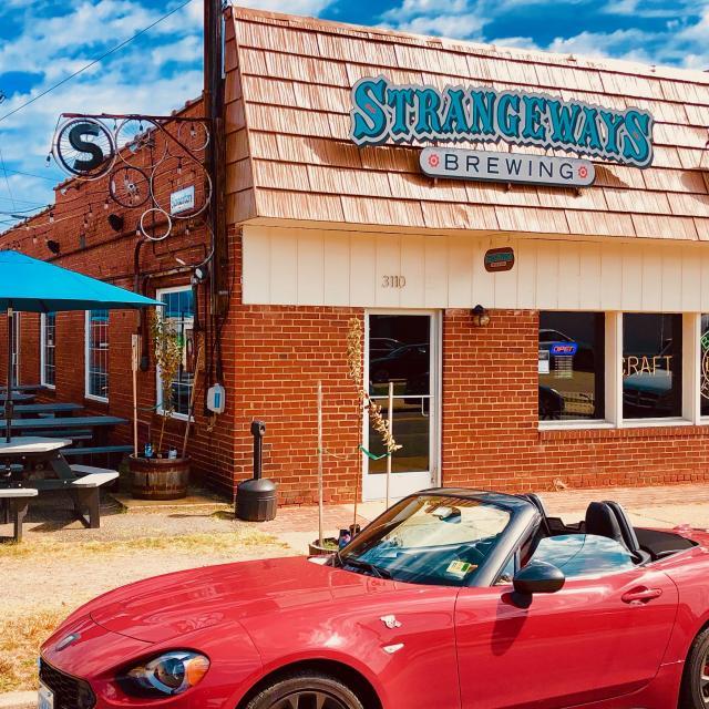 Storefront and Biergarten