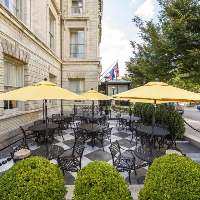 Lemaire at The Jefferson Patio