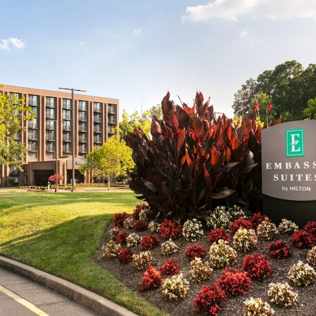 Full-service, all-suite hotel--Only Embassy Suites by Hilton in the Region