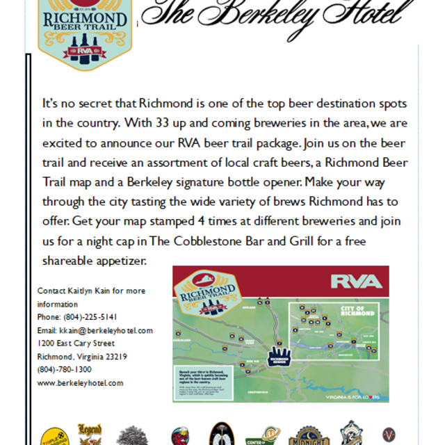 The Richmond Beer Trail