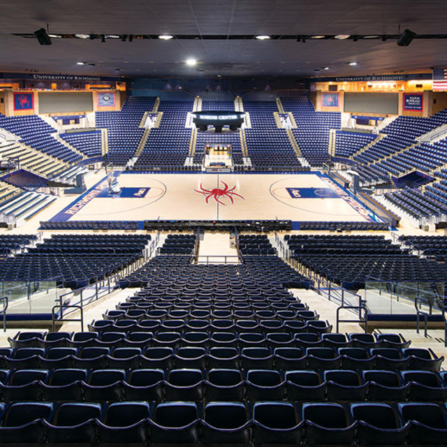 Robins Center, U of R