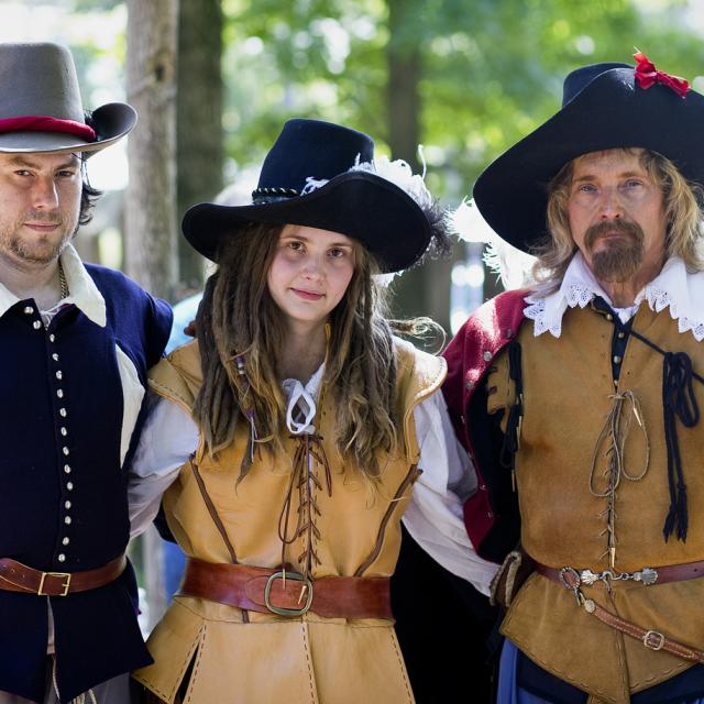 Sir Thomas Dale and Friends at Henricus