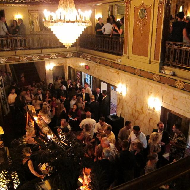 Virginia Wine Event inside Byrd Lobby, 2011