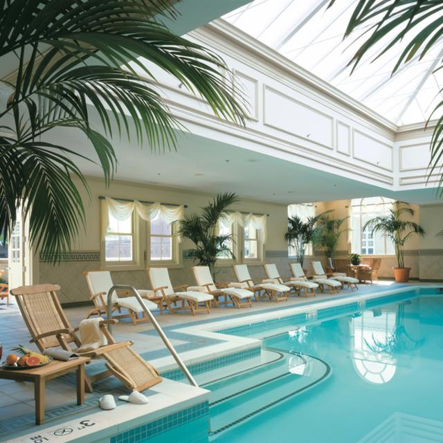 The Jefferson Hotel's Indoor Pool