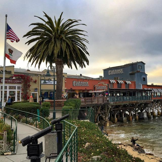 McAbee Beach Cannery Row Monterey