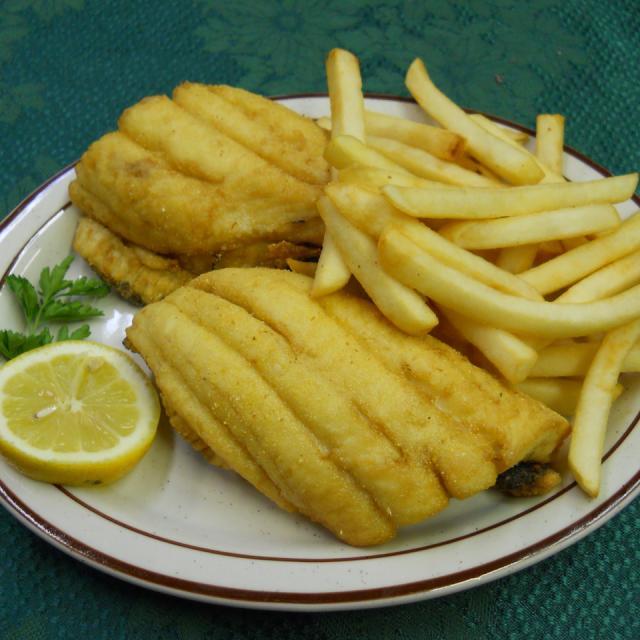 Fried Flounder