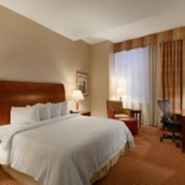 Hilton Garden Inn Downtown Richmond Hotel King Guest Room