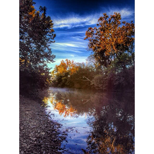 Roanoke River Greenway Fall - Fall Photo