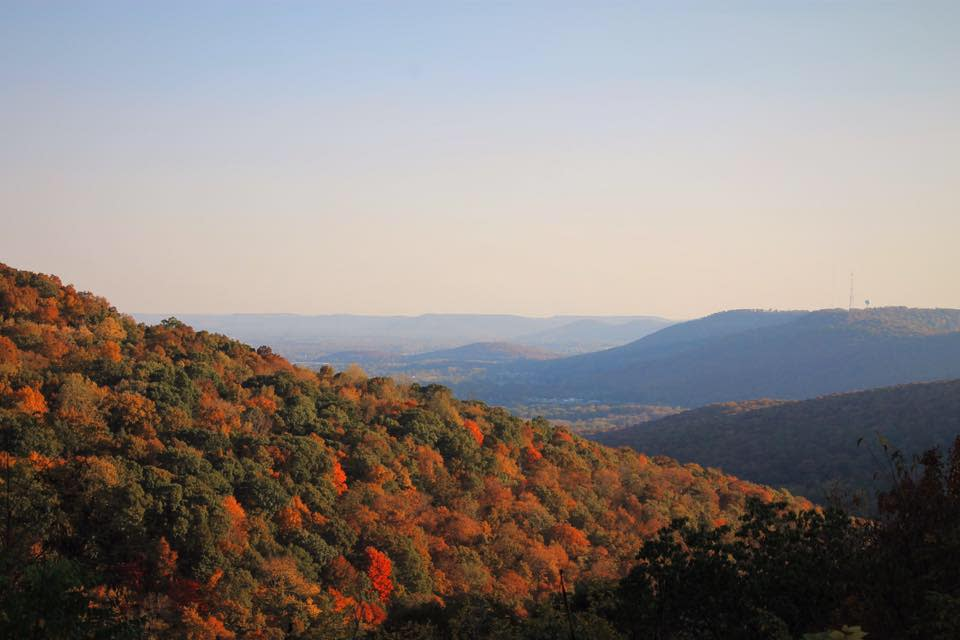 Monte Sano Fall Foliage