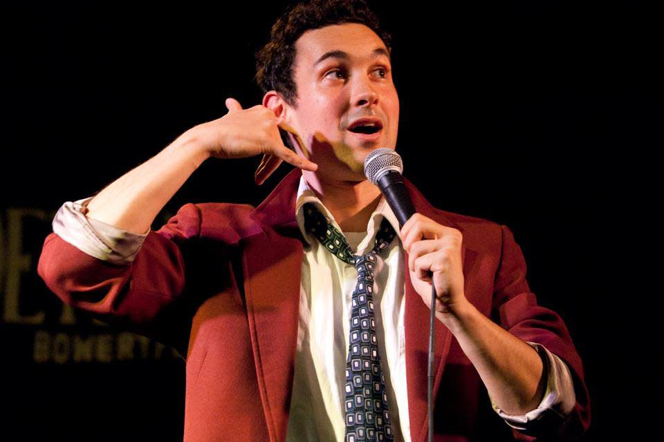 Comedian Mark Normand