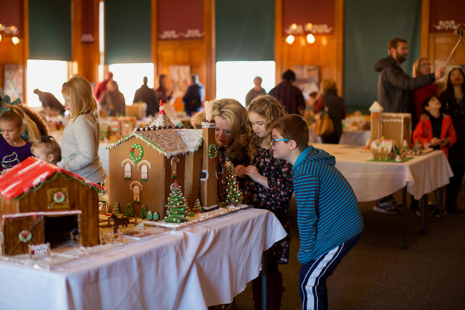 Family at the Festival of Gingerbread