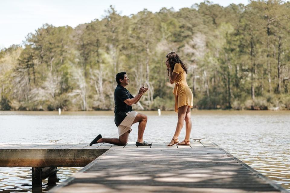 Lake Sinclair Engagement
