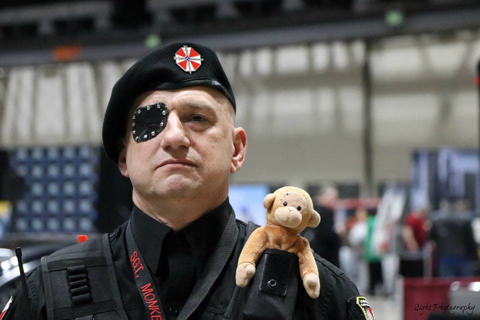 The Umbrella Corps makes an appearance at Wichita's ICT Comic Con