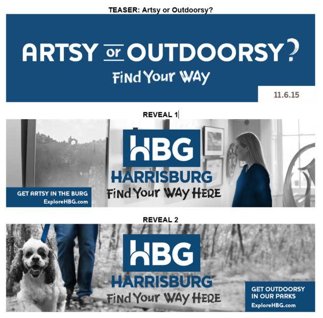 ExploreHBG Launch - Teaser Campaign Visuals